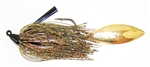 Southern Flash Swim Jig Copperfield Gold #4 7/16