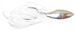 Southern Flash Swim Jig White Nickel #4 7/16
