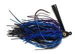 Heavy Cover Swim Jig Black Blue Purple 5/16 oz