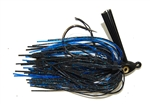 Heavy Cover Swim Jig Black Blue 1/2 oz