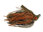 Heavy Cover Swim Jig Creek Craw 1/2 oz