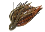 Double Weedguard Jig 1oz Creek Craw