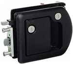 Trimark RV Door Lock with Dead Bolt Black, 60-1650 - Free Shipping