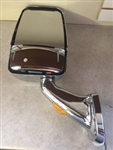 713825 Velvac RV Mirror Driver Side, Chrome - Free Shipping