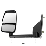 714547 Velvac Mirror GMC/Chevy 97-Newer 13 in. Arm