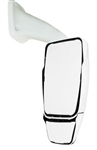 714682 Velvac RV Mirror Passenger Side, Inverted