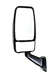 714881 Velvac Black RV Mirror-Driver Side - 106015-19-01A