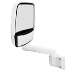 715129 WHITE Velvac RV Mirror-Driver Side