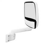 715146 WHITE  Velvac RV Mirror Passenger Side
