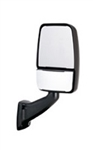 715870 Velvac RV Mirror Passenger side - Full Flat Glass
