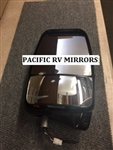 719110 - Passenger Deluxe Mirror Head W/ LEM Camera, Black