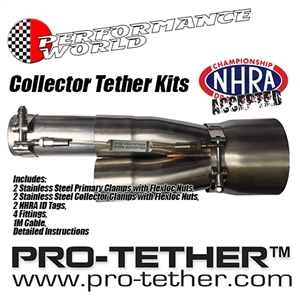 "Performance World 175300 PRO-TETHER Collector Tether Kit 1.75""/3.00"""