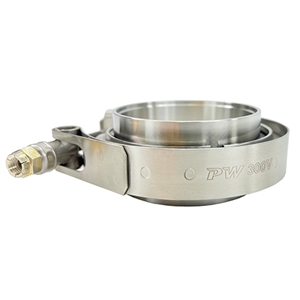 "Performance World 238V 2-3/8"" Stainless V-Band Assembly"