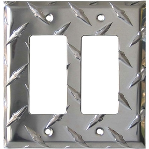 Performance World 32 Diamond Chrome Decora Switch/Outlet Cover