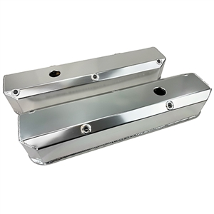 Performance World 366246 SB Mopar 273-360 Fabricated Aluminum Valve Covers