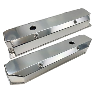 Performance World 366247 BB Mopar 361-440 Fabricated Aluminum Valve Covers