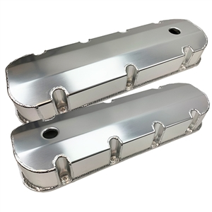 Performance World 366248 BB Chevrolet 396-454 Fabricated Aluminum Valve Covers