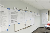 Wall Display Headers for your Meetings