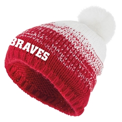 HOLLOWAY ASCENT OMBRE POM BEANIE