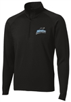 SPORT TEK WICKING STRETCH 1/2 ZIP PULLOVER = 2 Colors