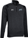 UNDER ARMOUR HUSTLE TRI-BLEND FLEECE 1/4 ZIP