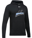 UNDER ARMOUR HUSTLE COTTON BLEND HOODIE = 3 COLORS