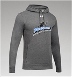 UNDER ARMOUR HUSTLE COTTON BLEND HOODIE - 2 COLORS