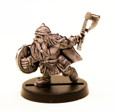 DWARF WARRIOR-AXEMAN