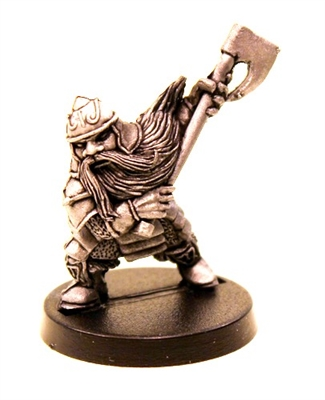 DWARF BATTLE AXE