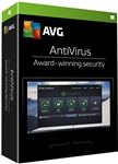 AVG Antivirus 2017,2018 - 1PC / 2 Year