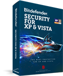 Bitdefender Security for XP and Vista 2019 - 3 PC / 1 Year