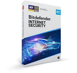 Bitdefender Internet Security 2019 5 PC's for 1 Year