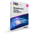 Bitdefender Total Security 2020 - 5 Devices - 1 Year - Multi Device