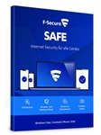 F-Secure SAFE 2015 - 3 Users / 1 Year