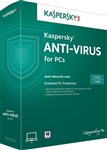 Kaspersky Antivirus 2015 - 1 PC / 2 Year