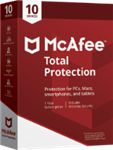 McAfee Total Protection 2021 - 10 Devices / 1 Year