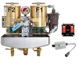 A KEENAN FILTERS Premium dual filter fuel management system