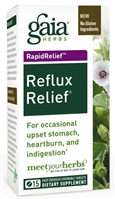 Reflux Relief (45 Chewable Tablets) by Gaia Herbs