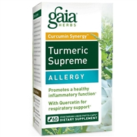 Turmeric Supreme Allergy (60 PhytoCaps) Gaia Herbs