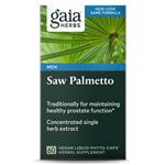 Saw Palmetto (60 Capsules) by Gaia Herbs