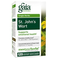 St. John's Wort (60 PhytoCaps) by Gaia Herbs