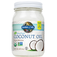 Extra Virgin Coconut Oil (16 Oz) Garden of Life