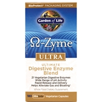 OmegaZyme ULTRA (180 Capsules) Garden of Life