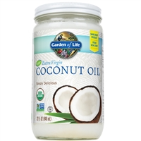 Extra Virgin Coconut Oil (32 Oz) Garden of Life