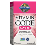 Vitamin Code RAW B-12 (30 Capsules) Garden of Life