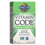 Vitamin Code RAW B-Complex (60 Capsules) Garden of Life