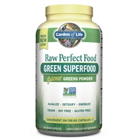 Perfect Food RAW (240 CAPSULES) Garden of Life