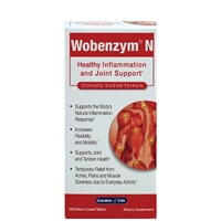 Wobenzym N (100 Tablets) Garden of Life