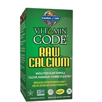 Vitamin Code RAW Calcium (60 Capsules) Garden of Life
