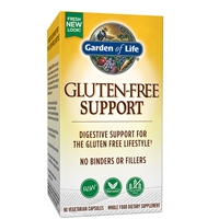 RAW Gluten Free Support (90 VCaps) Garden of Life